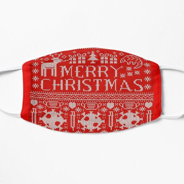 Coronavirus Funny 2020 Merry Christmas sweater Norwegian pattern Mask