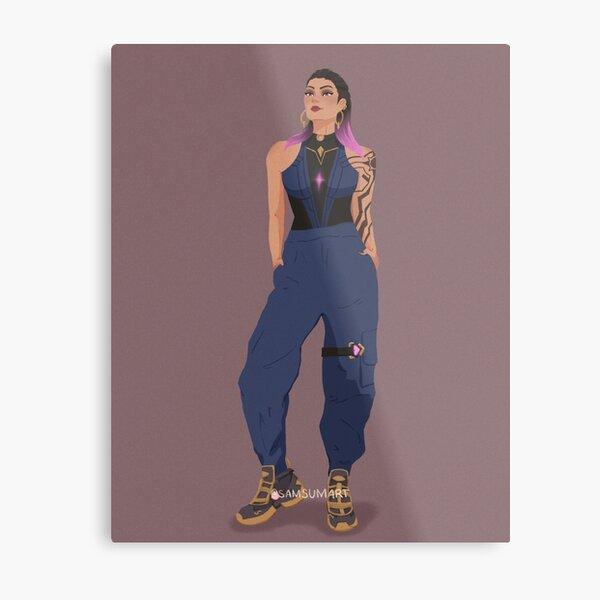 Reyna Streetwear Metal Print