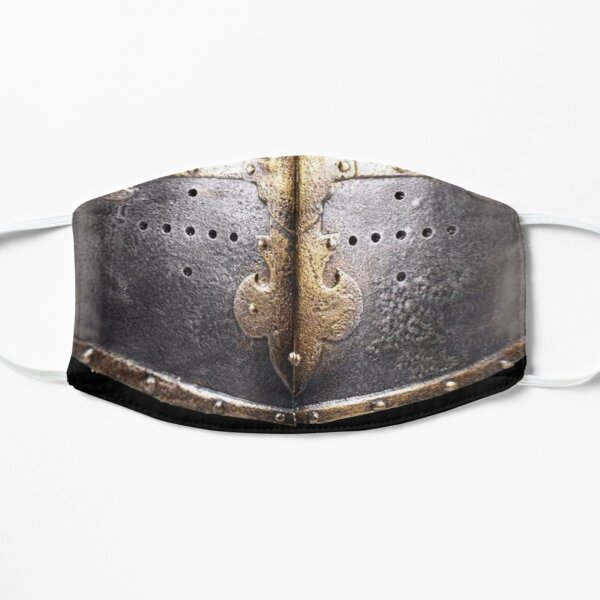 Middle Ages European Face Shield mask Flat Mask