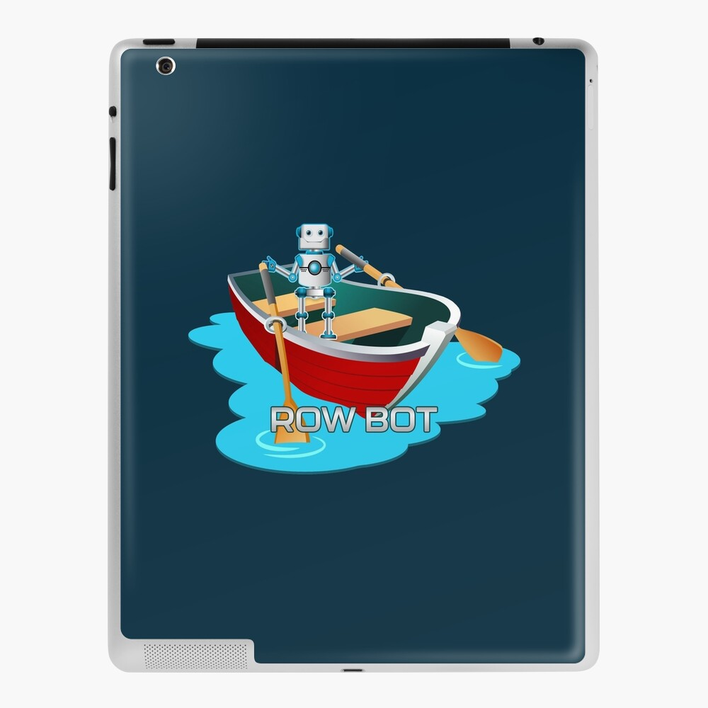 Row Bot. iPad Case & Skin