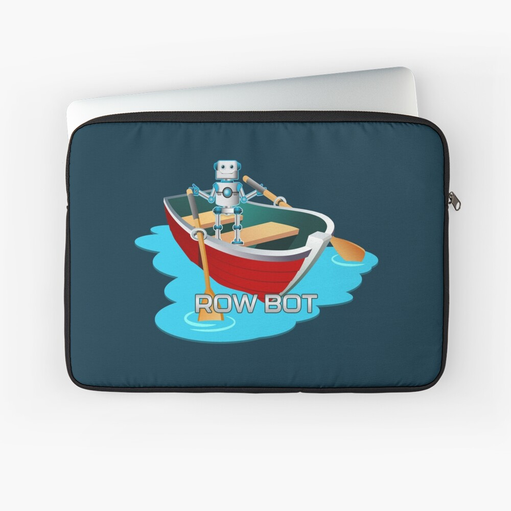 Row Bot. Laptop Sleeve