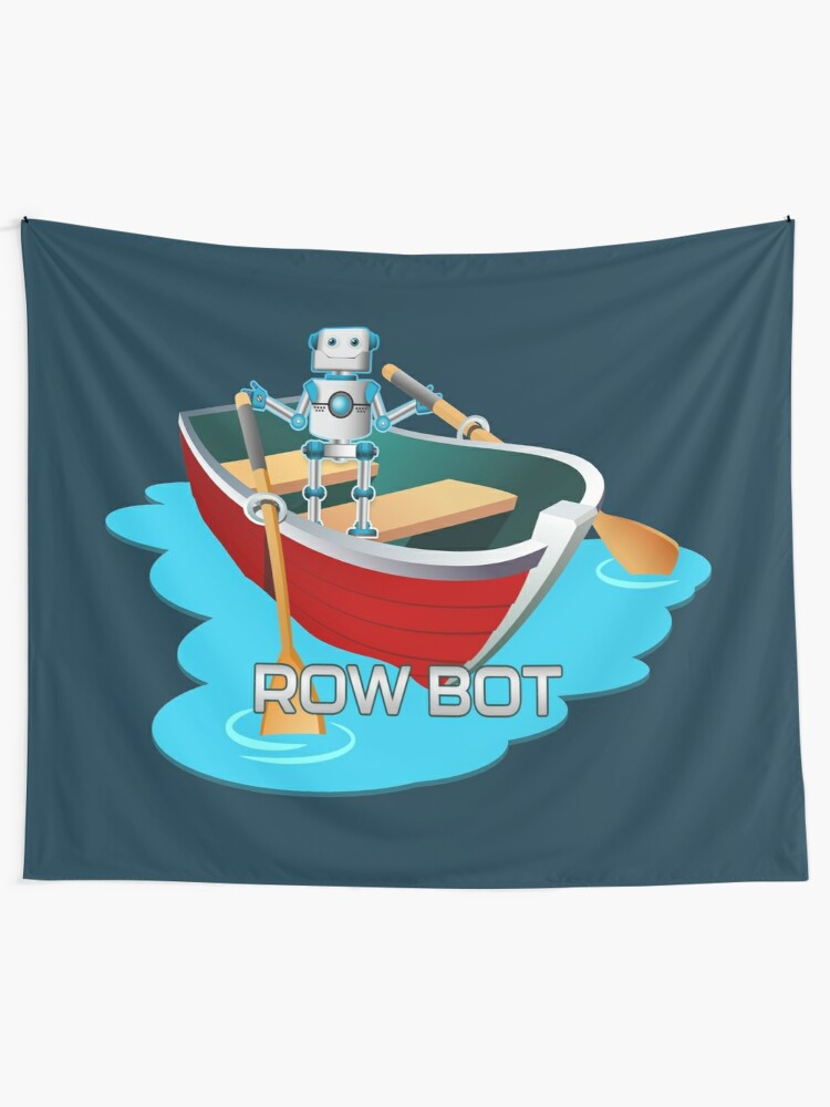 Alternate view of Row Bot. Tapestry