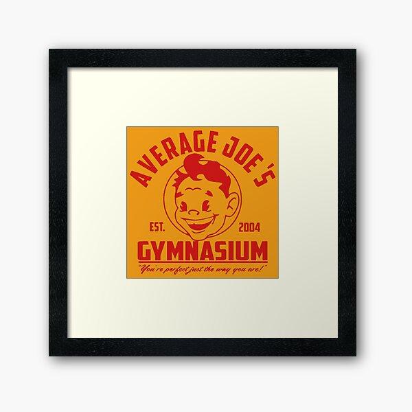 BEST SELLER -Average Joes Gymnasium - Dodgeball  Framed Art Print