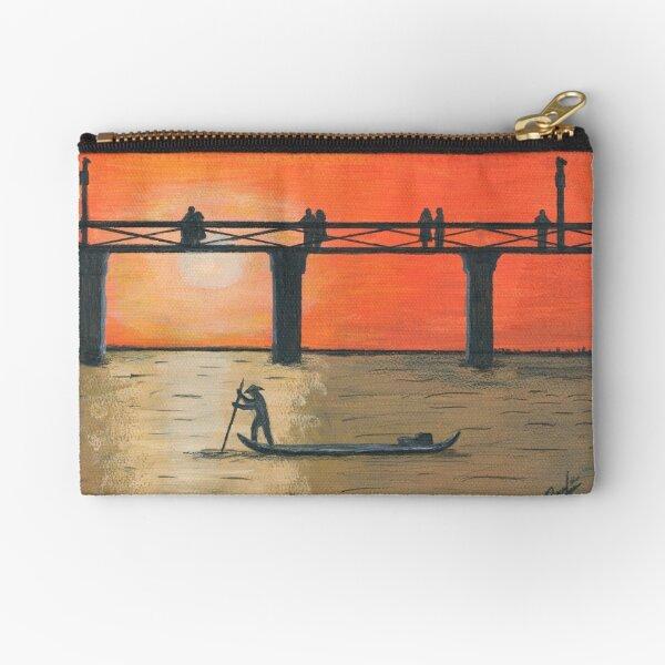 Sunset Zipper Pouch