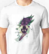 Angry Wolf Unisex T-Shirt
