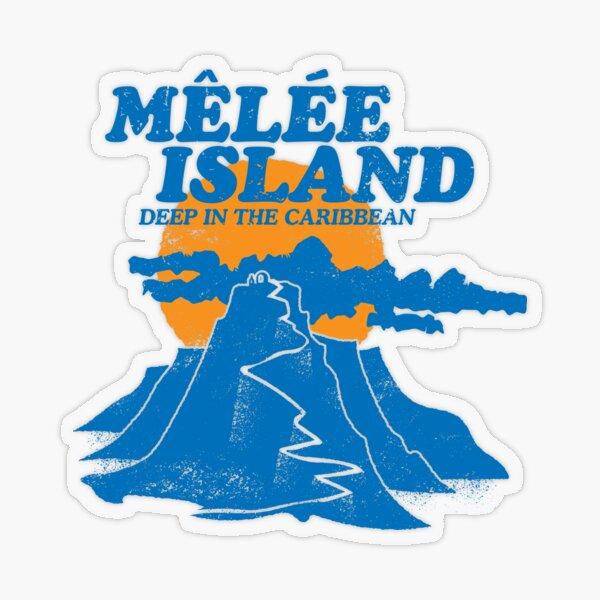 Mêlée Island Transparent Sticker