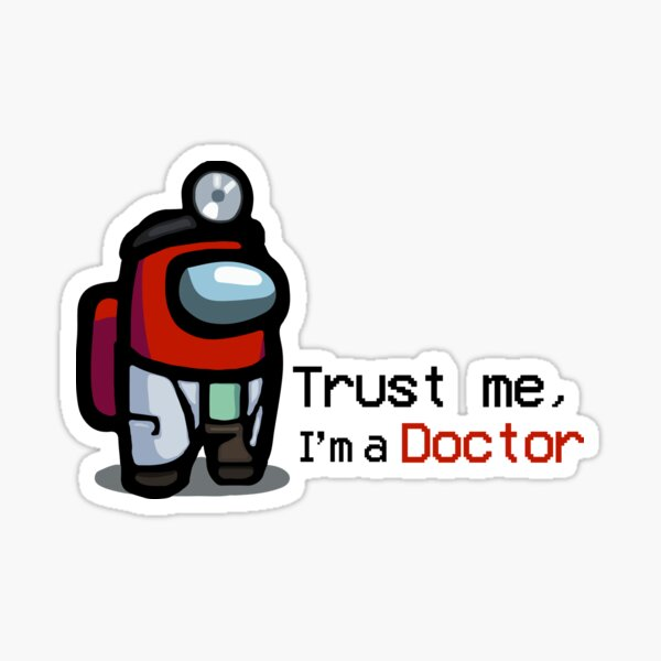 Among Us: Doctor Red Sticker
