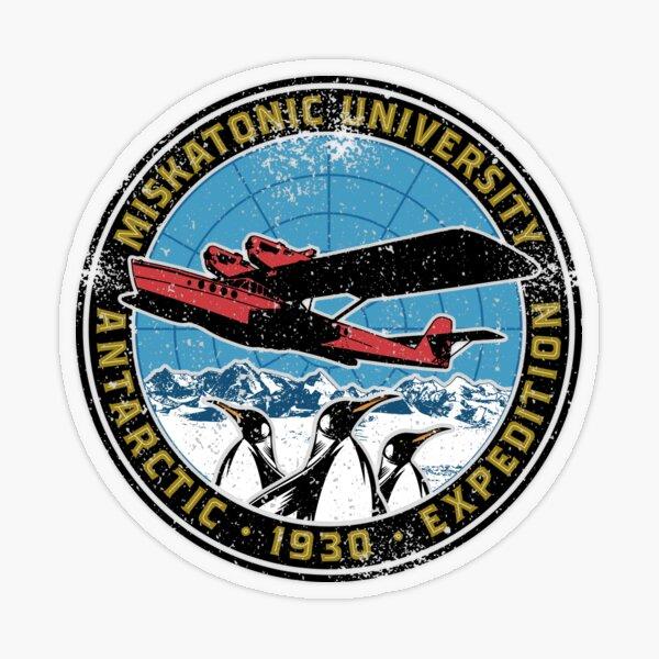 Miskatonic University Antarctic Expedition Transparent Sticker