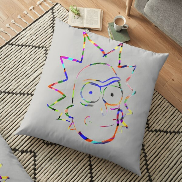 Rainbow Rick! Floor Pillow