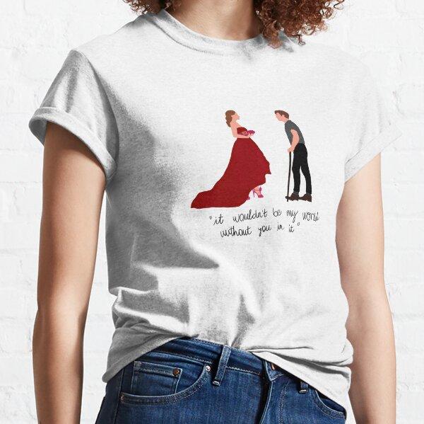 Blair y Chuck en París Camiseta clásica