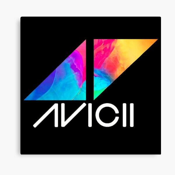 ◢◤Avicii Logo Canvas Print