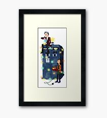 Doctor Who - It's Christmas! Framed Print