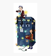 Doctor Who - It's Christmas! Photographic Print