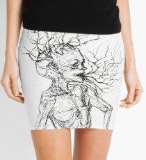 Brain Stem Mini Skirt