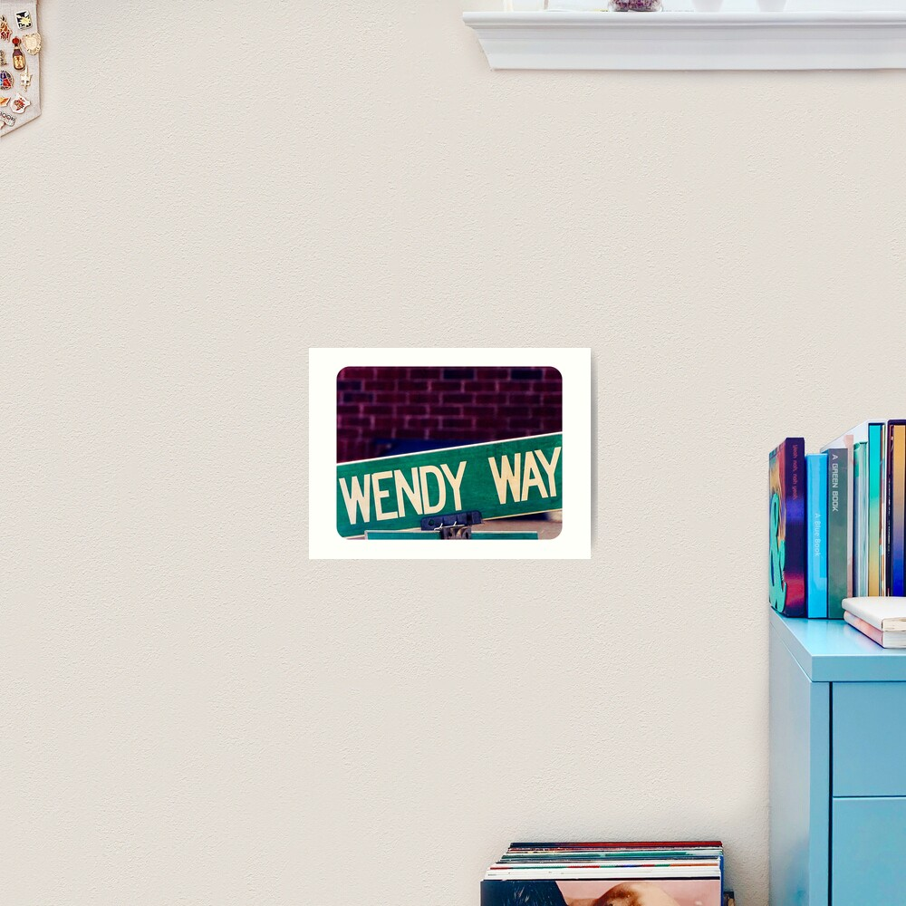Wendy, Wendy sticker, Wendy mug  Art Print
