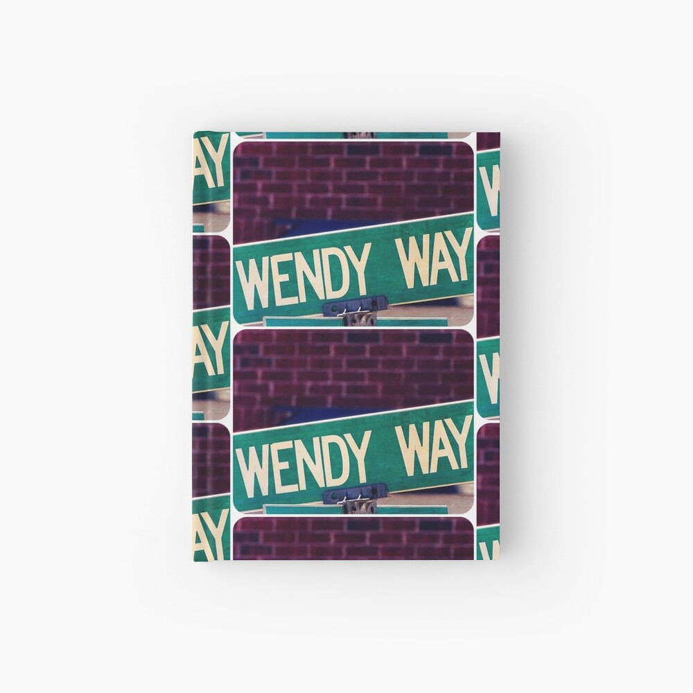 Wendy, Wendy sticker, Wendy mug  Hardcover Journal