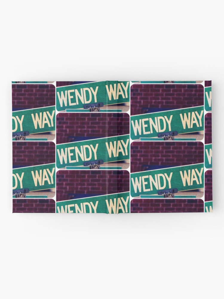 Alternate view of Wendy, Wendy sticker, Wendy mug  Hardcover Journal