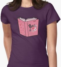 The Burn Book Womens Fitted T-Shirt