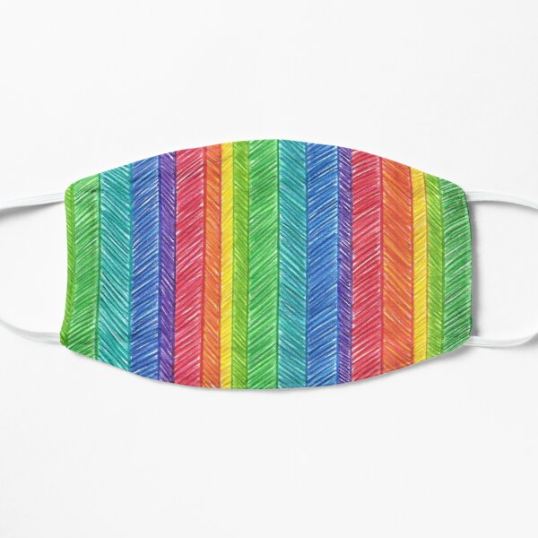 RAINBOW HERRINGBONE Mask