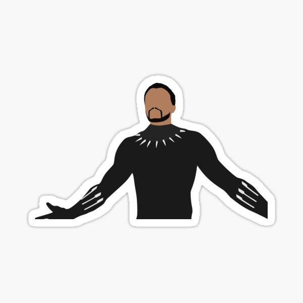King T'Challa Sticker