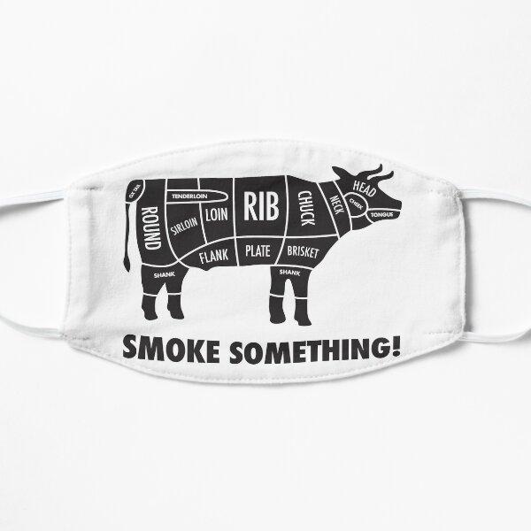 Meat Smokers Flat Mask