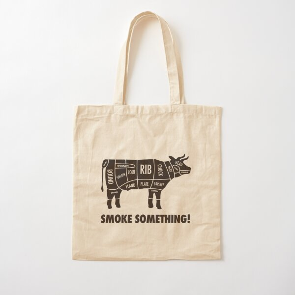 Meat Smokers Cotton Tote Bag