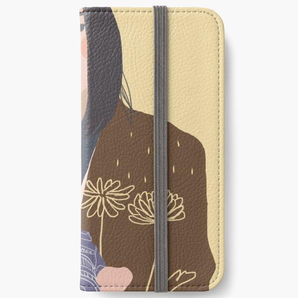 Yellow iPhone Wallet