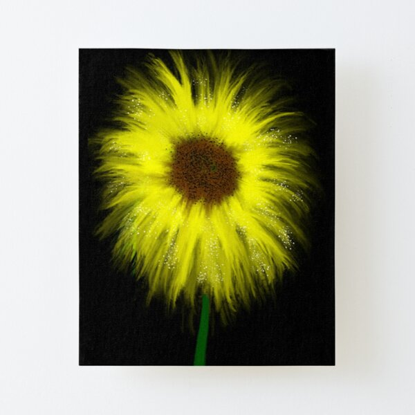Sunflowers  Canvas Mounted Print