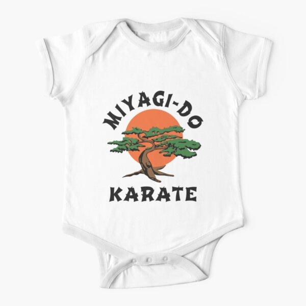 Miyagi-Do Karate #2 Short Sleeve Baby One-Piece