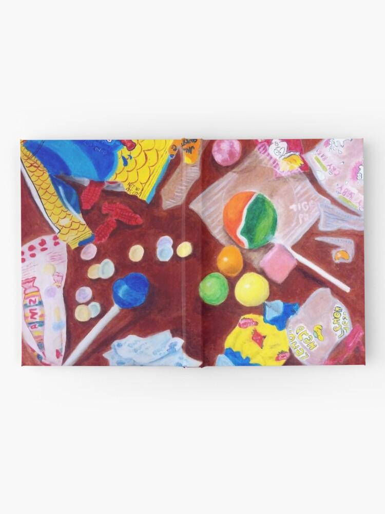 Vista alternativa de Cuaderno de tapa dura I Want Candy