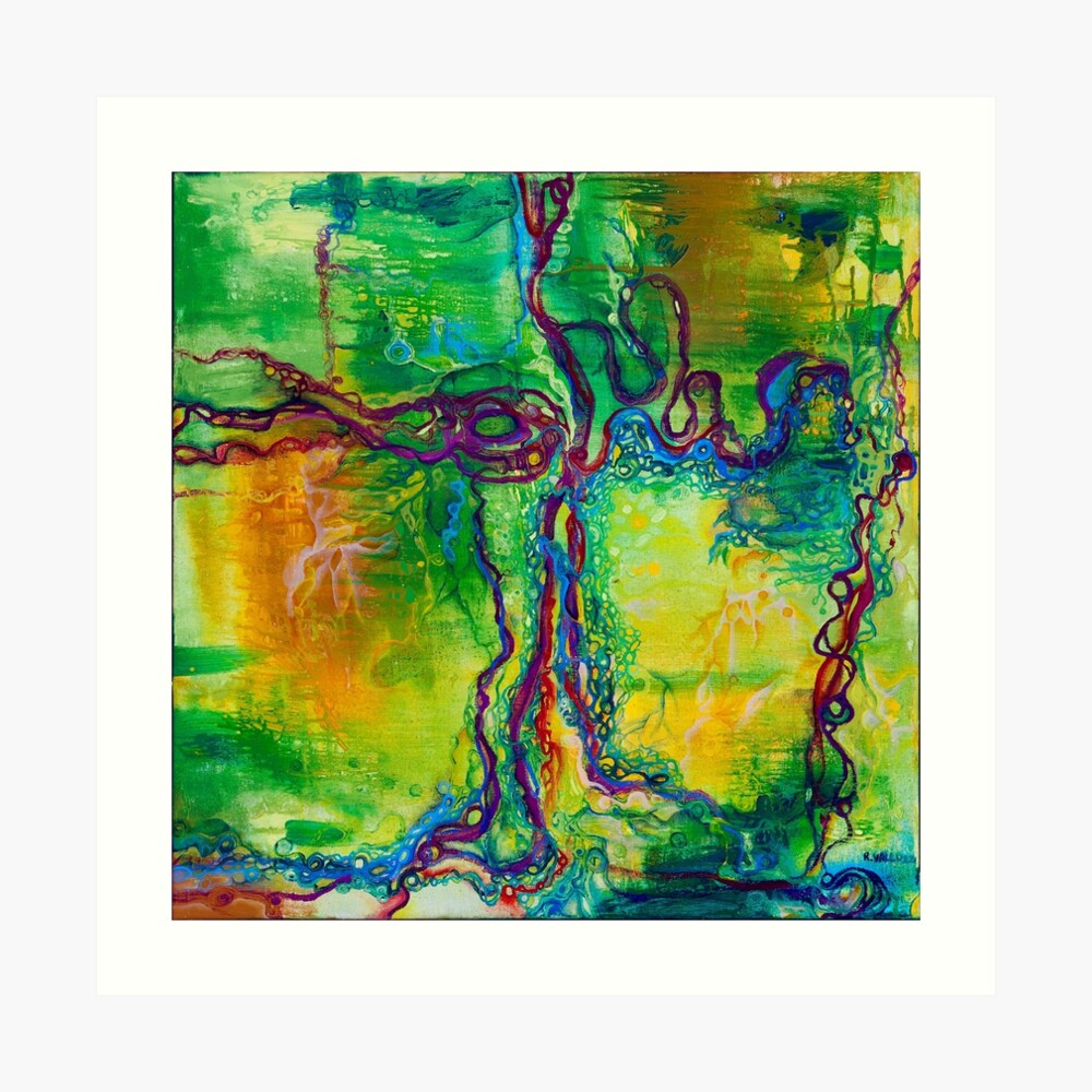 Keystone  - original oil on linen Art Print