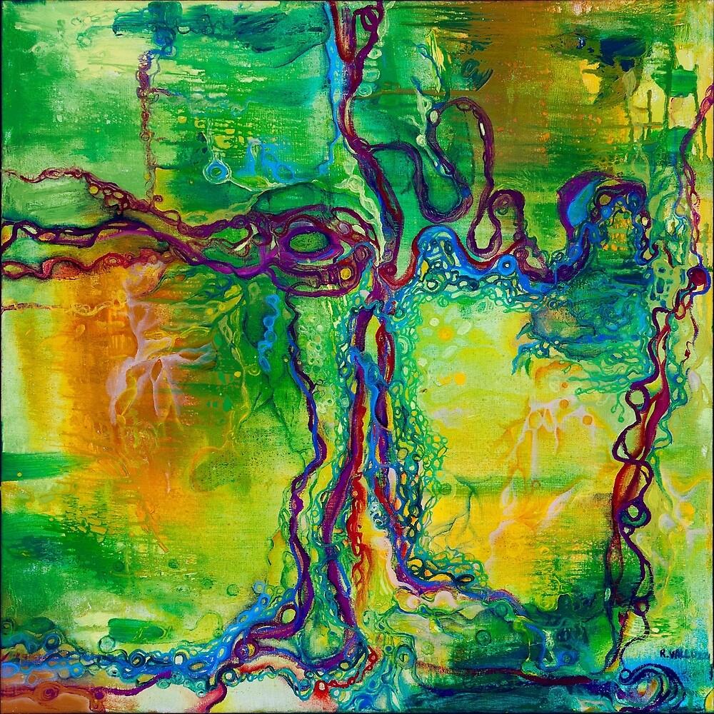 Keystone  - original oil on linen by Regina Valluzzi