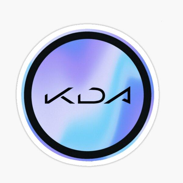 KDA Circle Logo Sticker