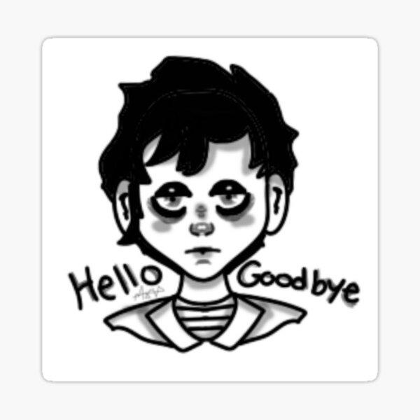 Klaus Hargreeves gothic design  Sticker