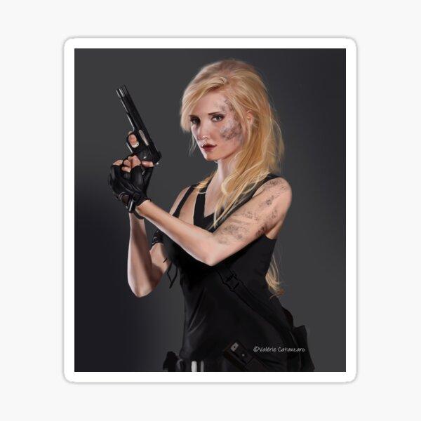 Blonde armée DIgital Sticker