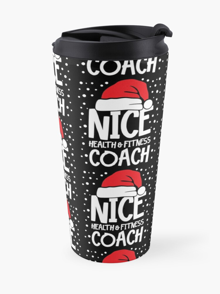 Alternate view of Nice Fitness Coach - Personal Trainer Christmas Gift Travel Mug