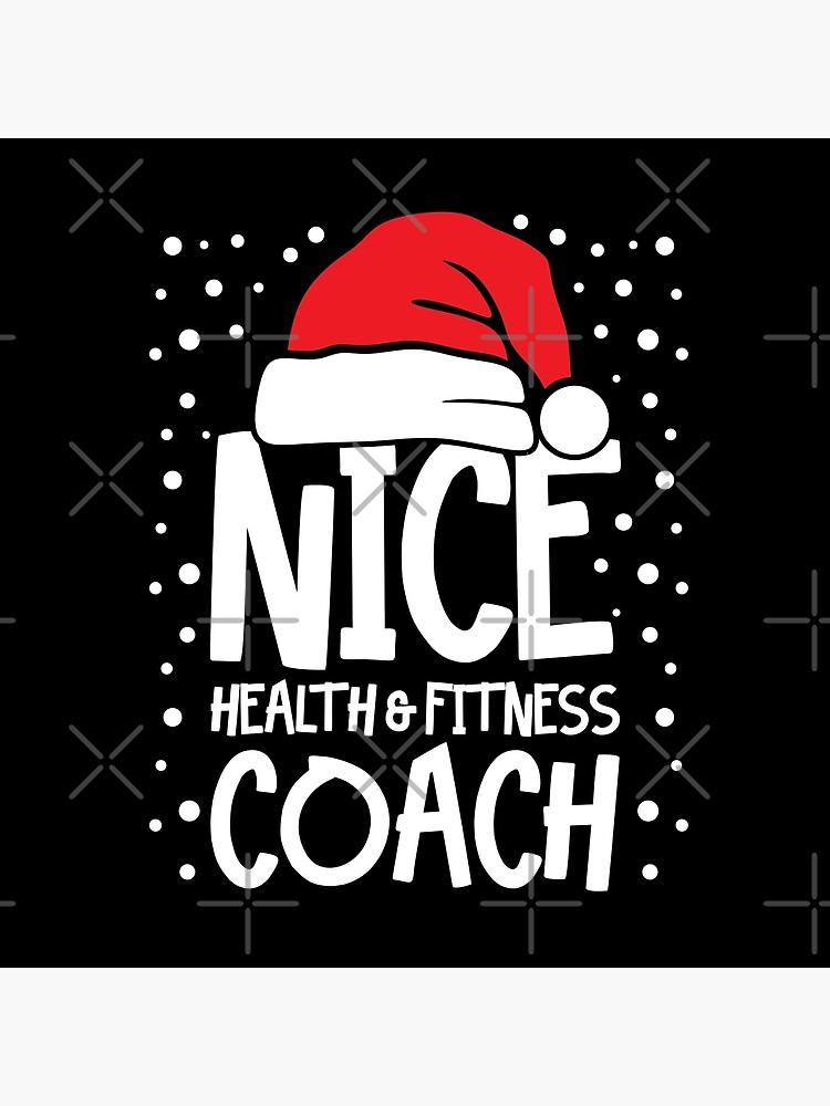 Nice Fitness Coach - Personal Trainer Christmas Gift by teemixer