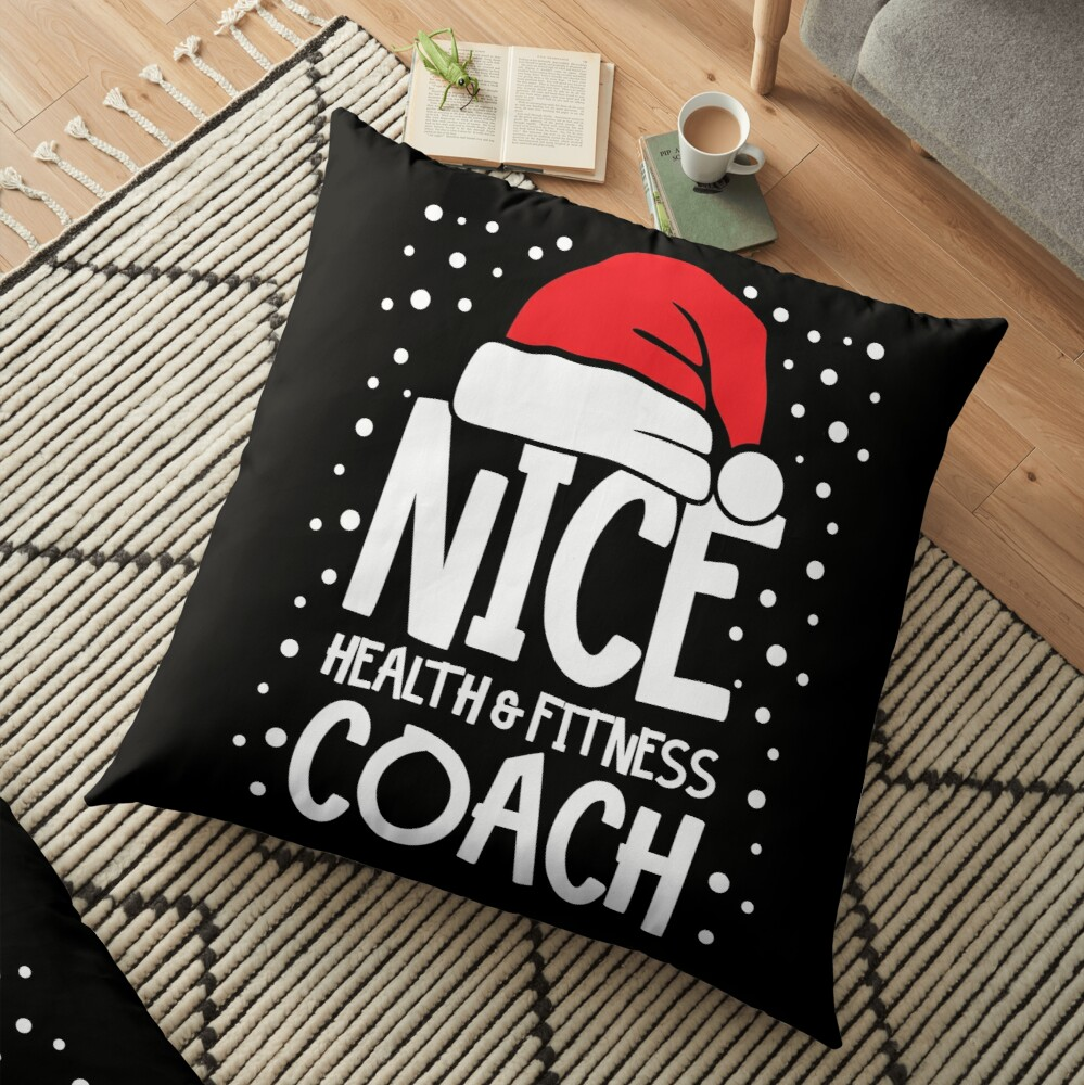 Nice Fitness Coach - Personal Trainer Christmas Gift Floor Pillow