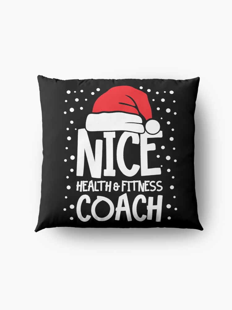 Alternate view of Nice Fitness Coach - Personal Trainer Christmas Gift Floor Pillow