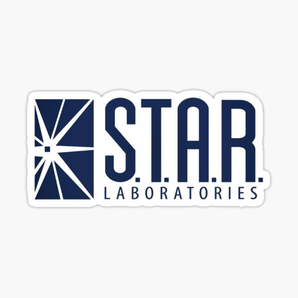 Star labs logo Sticker