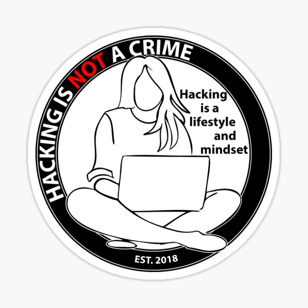 Hacker Zen Sticker