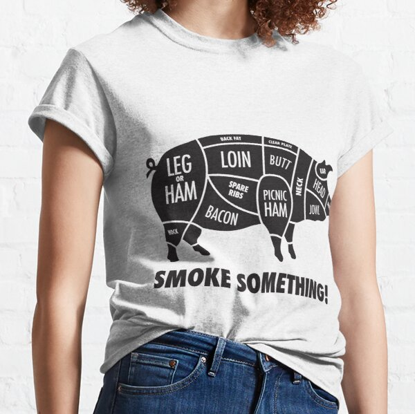 Meat Smokers Hog T Classic T-Shirt