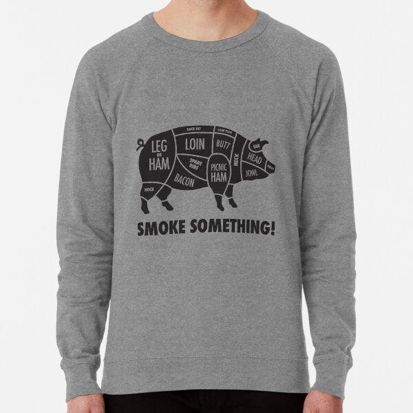 Meat Smokers Hog T Lightweight Sweatshirt