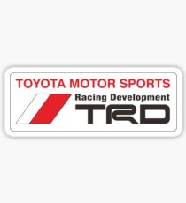 TRD logo Sticker