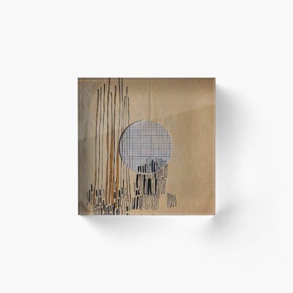 Record 1 Acrylic Block