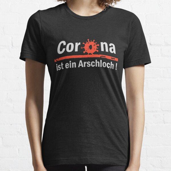Mario Barth Corona Ist Ein Arschloch Essential T-Shirt