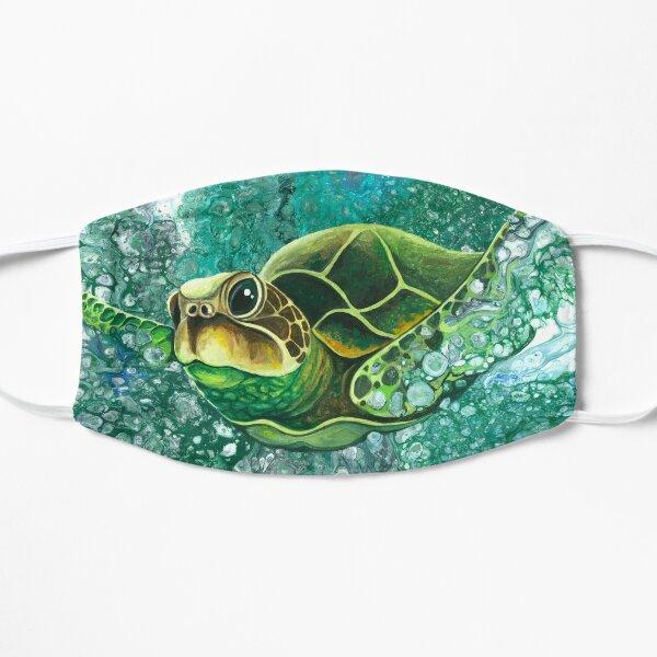 Sea Turtle - Deep Sea Dive Flat Mask