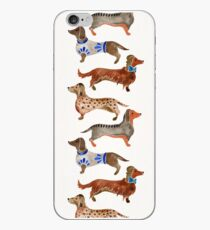 Vinilo o funda para iPhone Dachshunds