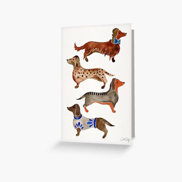 Dachshund Weiner Dog Clock with 11 pictures puppy adult