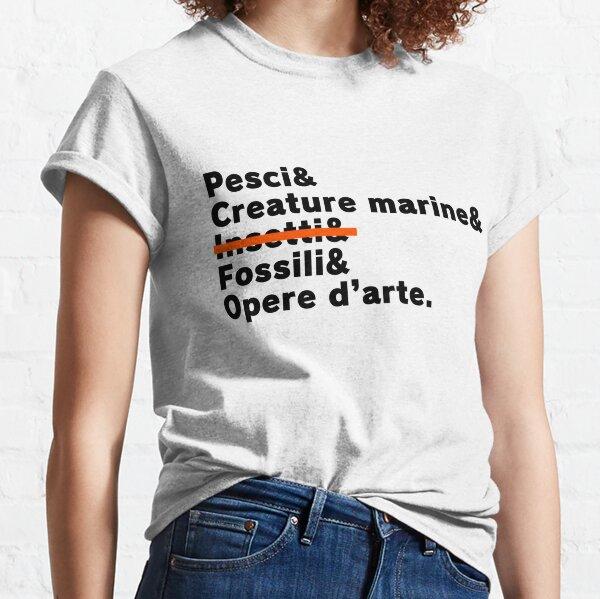 """Collezione """"Vita da Crosser"""" (Museo, Testo nero) Classic T-Shirt"""